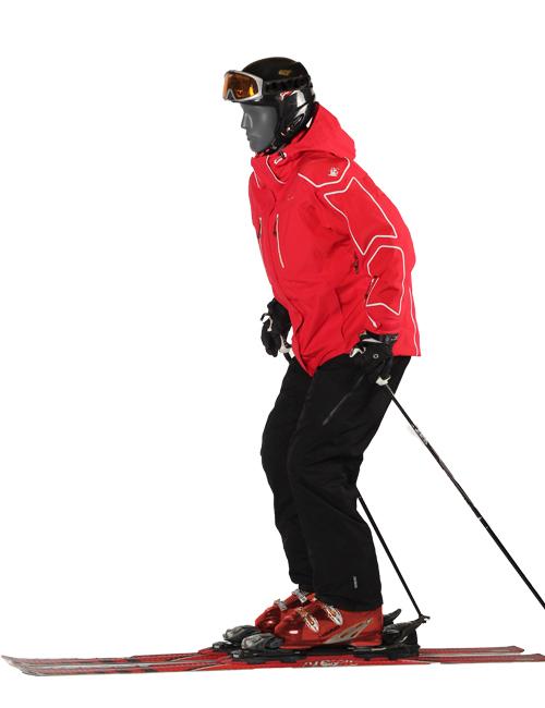Skiløber, sports mannequin. herremodel