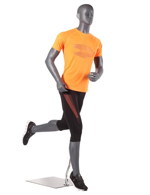 mannequin som løber - mand