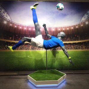 Sportsmannequiner fodbold