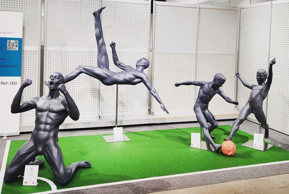Sportsmannequiner fodboldspillere mannequin sport