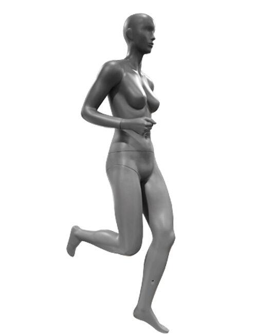 løbende/joggende dame