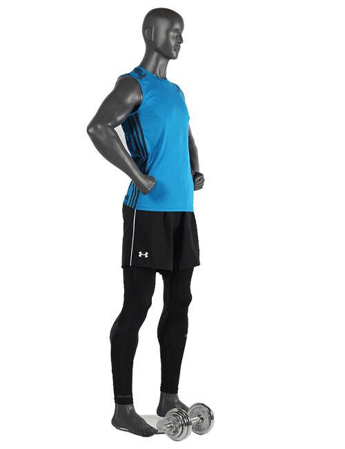 Sporty herre mannequin