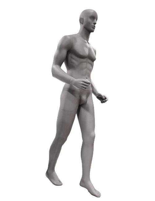 herre gående sport mannequin
