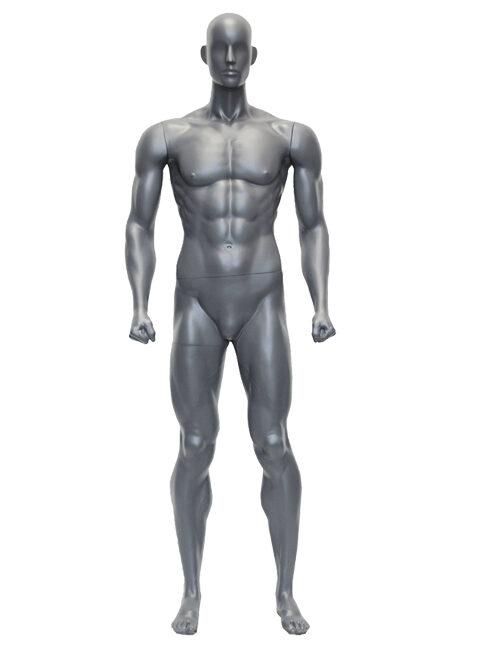 muskulær sportsmannequiner herre