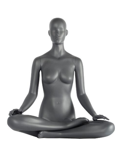 siddende dame yoga