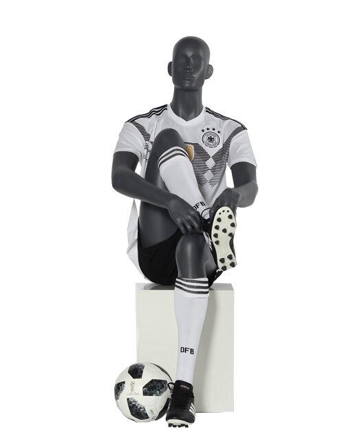 siddende sport mannequin